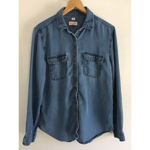 "LOFT ""the Softened"" Chambray"